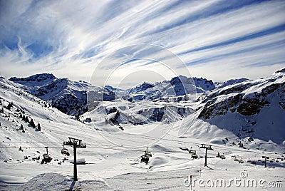 Winter Alpine Panorama