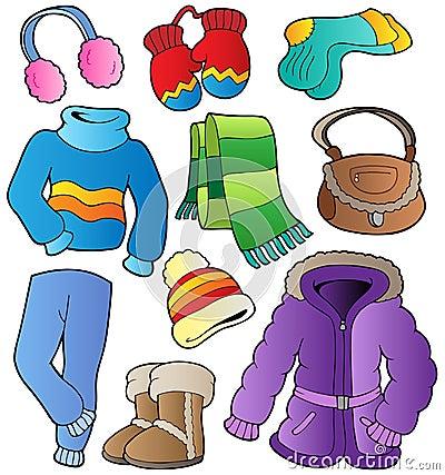 Free Winter Apparel Collection 1 Stock Photos - 21565513