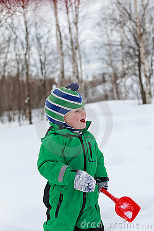 Winter baby activity