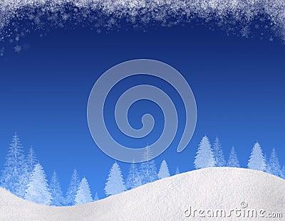 Winter backgound#1