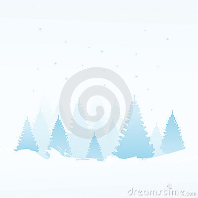 Free Winter Background Royalty Free Stock Photography - 11819407