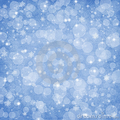 Winter background Christmas abstract bokeh