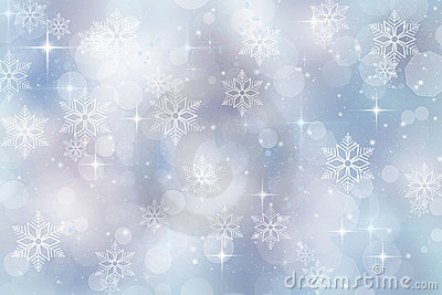Winter background for christmas and holiday season