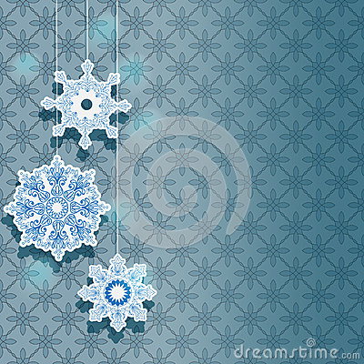 Winter background for holiday design