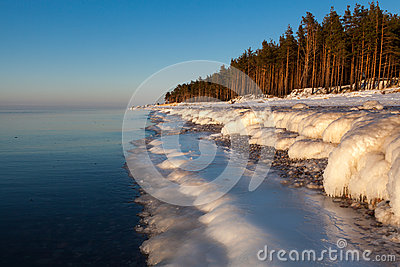 Winter Baltic Royalty Free Stock Photos - Image: 27741078