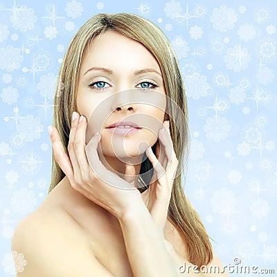 Winter beauty - fashion woman