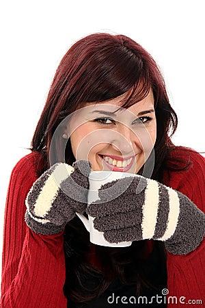 Winter Beauty Girl