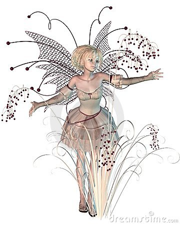 Winter Berries Fairy