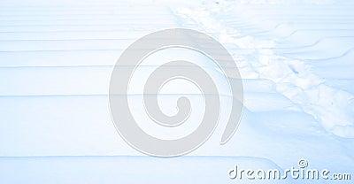 Winter blue white snow texture