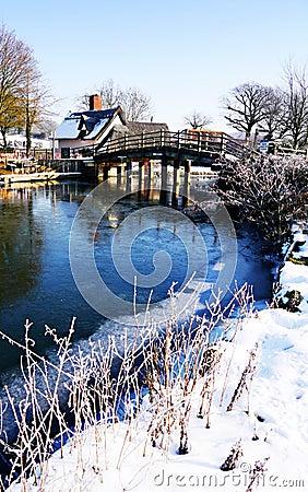 Winter-Brücke
