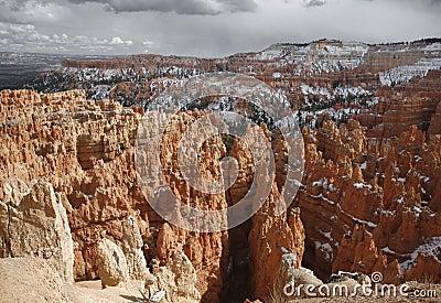 Winter At Bryce Canyon