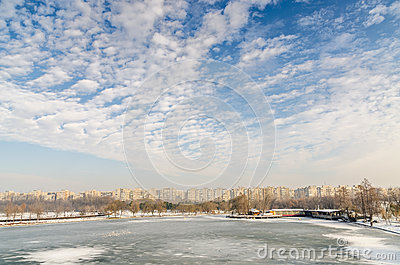 Winter In Bucharest Stock Photography - Image: 28563202