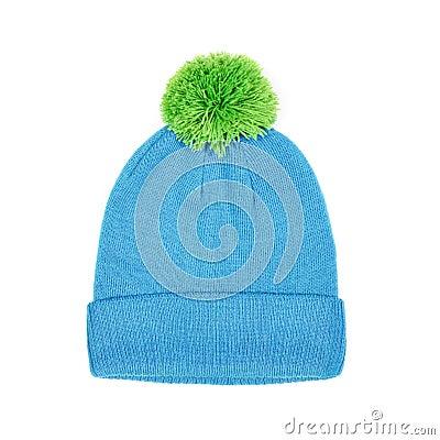Free Winter Cap Isolated On White Stock Photos - 39951863