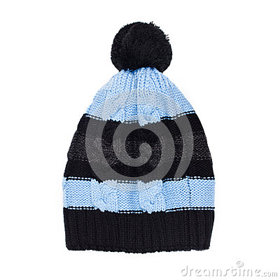 Free Winter Cap Isolated On White Background Royalty Free Stock Photo - 31487515