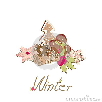 Winter card