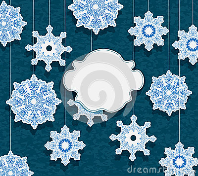 Winter card for holiday design