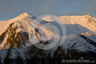 Winter - Caucasus Mountains