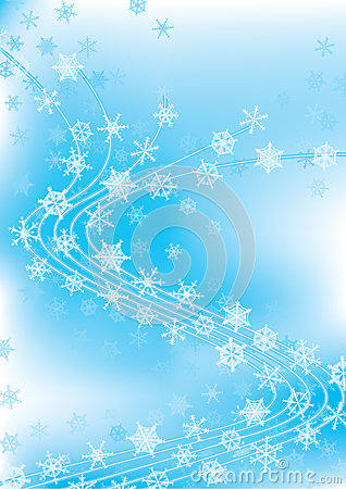 Winter Celebration Dancing Snowflakes_eps