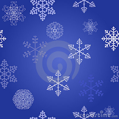 Winter christmas new year seamless pattern
