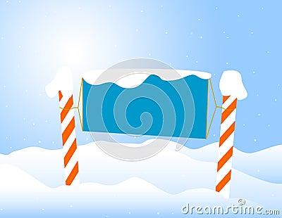 Winter /christmas Notice board