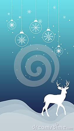 Free Winter Christmas Snowflakes Reindeer Ornament Snowfall Wallpaper Royalty Free Stock Photo - 103190185
