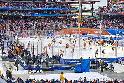Winter Classic 2012 Editorial Stock Image