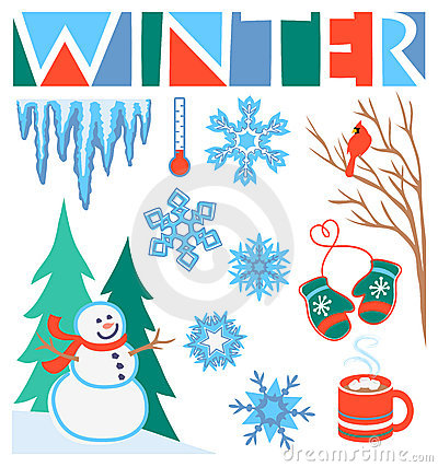 Winter Clip Art Set/eps