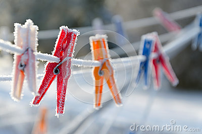 Winter clips