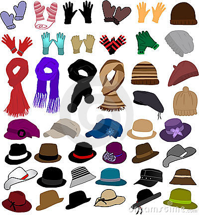 Free Winter Clothes Royalty Free Stock Image - 17001566