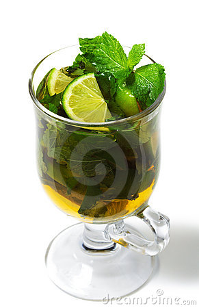 Winter Cocktail -Warm Mojito