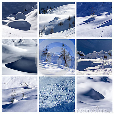Free Winter Collage Royalty Free Stock Images - 29284059