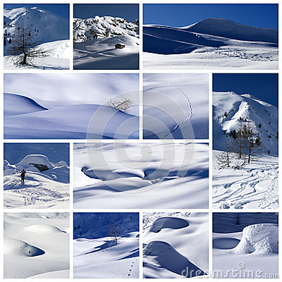 Free Winter Collage Royalty Free Stock Image - 29284206
