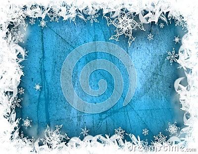 Winter decorative illustration