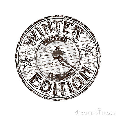 Winter edition stamp