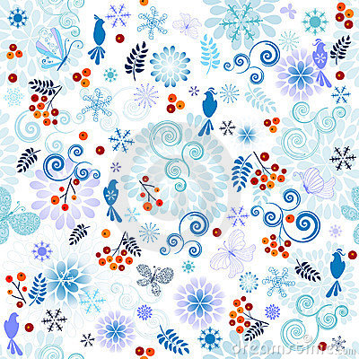 Winter effortless pattern
