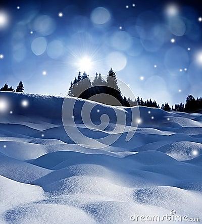 Winter evening