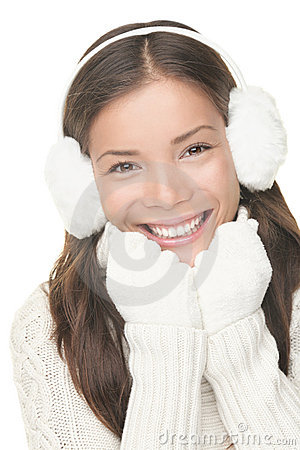 Free Winter Face Skin Care Stock Photography - 16668232