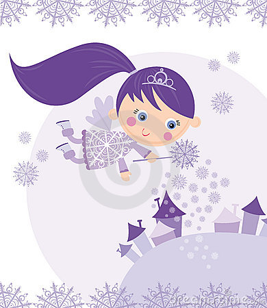 Free Winter Fairy Royalty Free Stock Images - 7345929