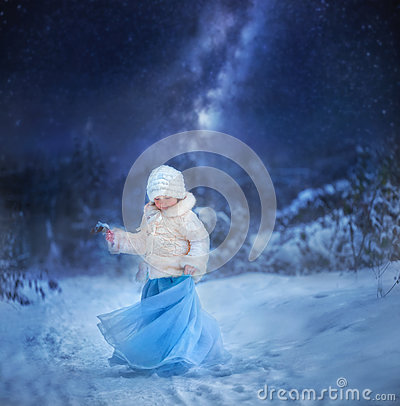 Free Winter Fairytale Stock Image - 84187261