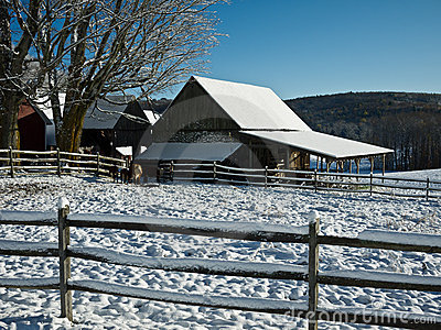 Winter Farmscape