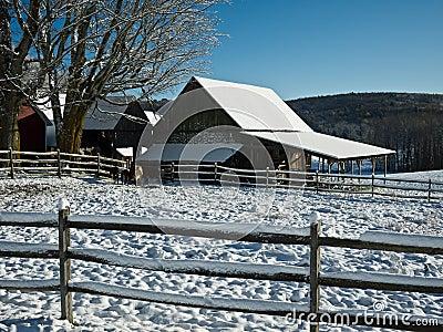 Winter Farmscape