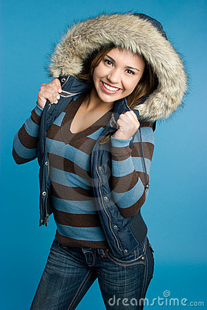 Free Winter Fashion Girl Stock Photography - 11279222