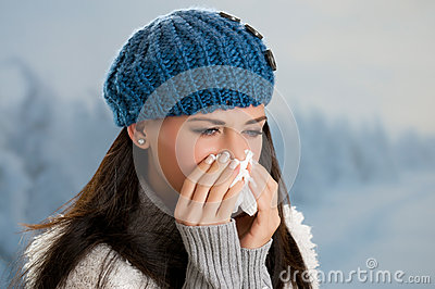 Winter fever and flu
