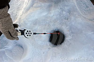 Winter fishing tackle