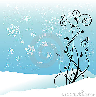 Winter floral design