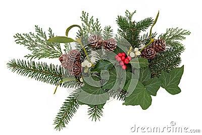 Winter Floral Display