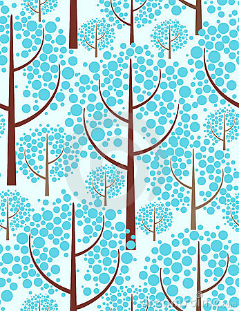 Free Winter Forest. Royalty Free Stock Photography - 6962337