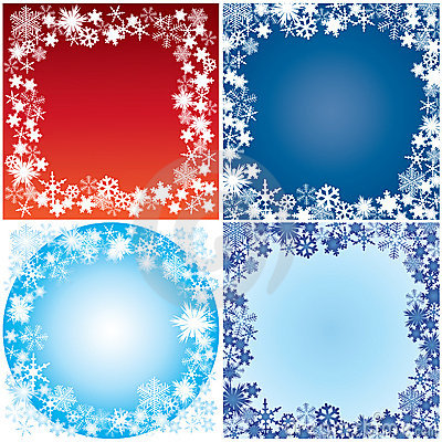 Winter Framework. Royalty Free Stock Images - Image: 17178509