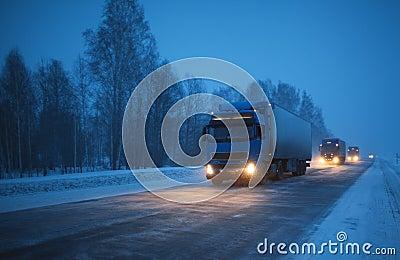 Winter freight