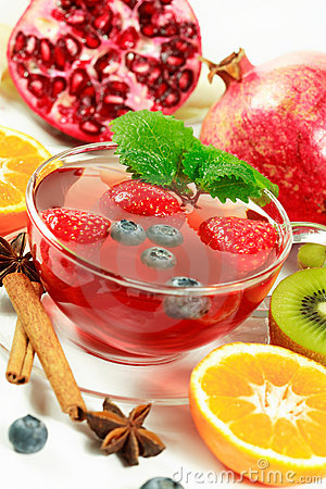 Free Winter Fruit Tea Stock Images - 3654614